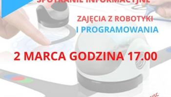 Spotkanie informacyjne-robotyka