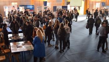 VII Targi Edukacji i Pracy odbyły się w Liceum Ogólnokształcącym w Białogardzie