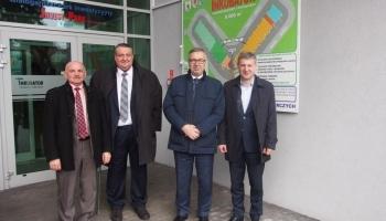 Wiceminister Rodziny, Pracy i Polityki Społecznej odwiedził Białogardzki Park Inwestycyjny INVEST-PARK